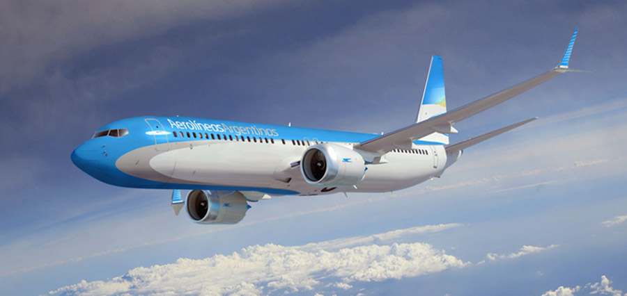 Aerolíneas argentinas transportador oficial de Expográfika