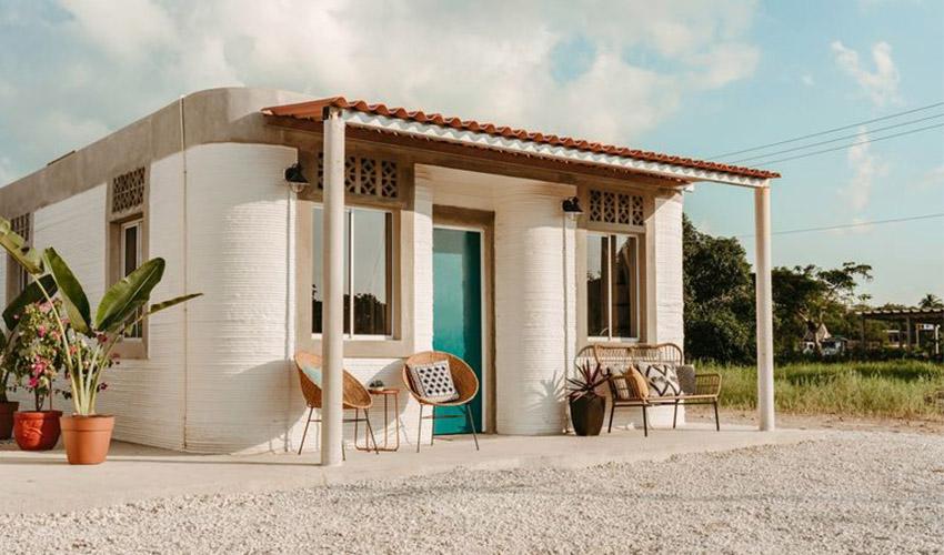 México tendrá casas impresas en 3D