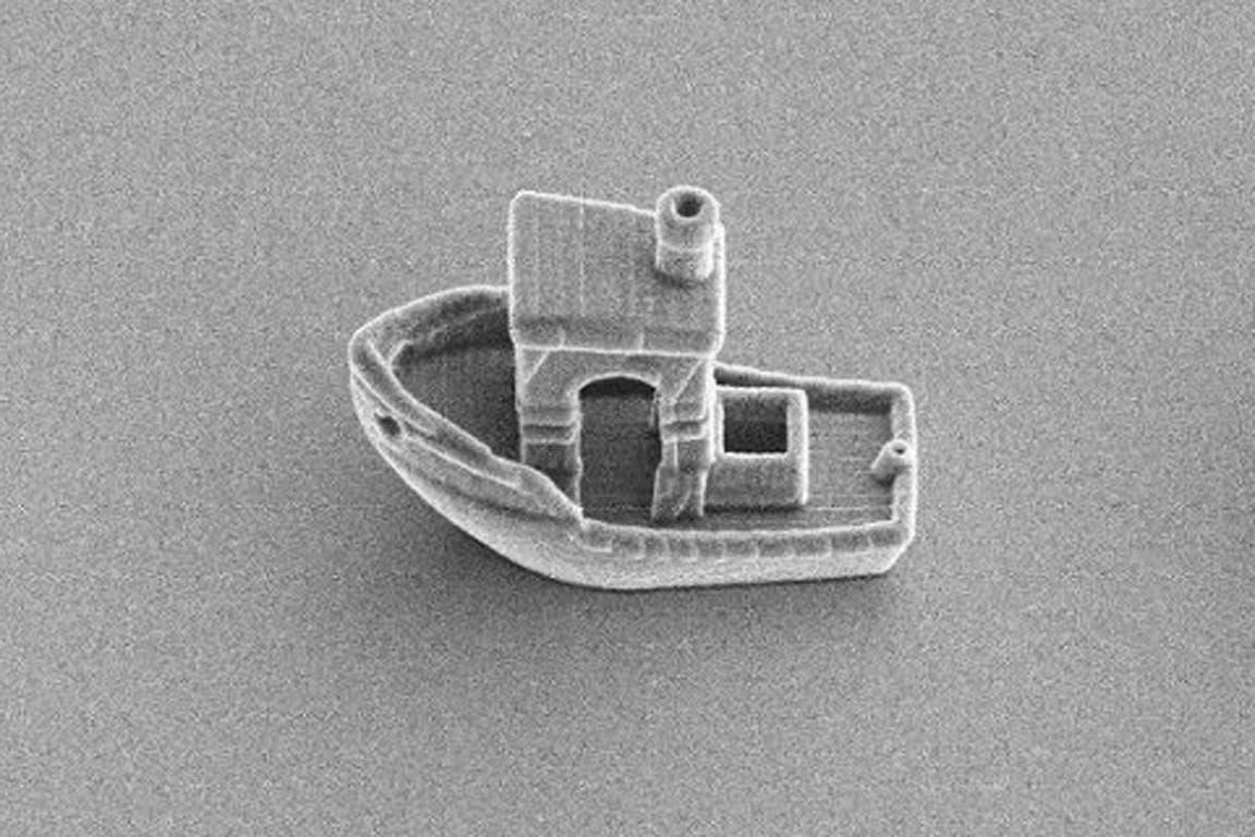 Impresión 3D: crearon la embarcación más pequeña del mundo.